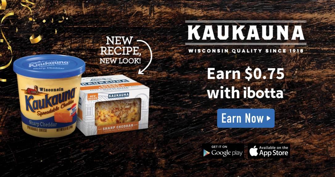Earn $0.75 with ibotta #ad #Kaukauna100 food allergy friendly cheese spread