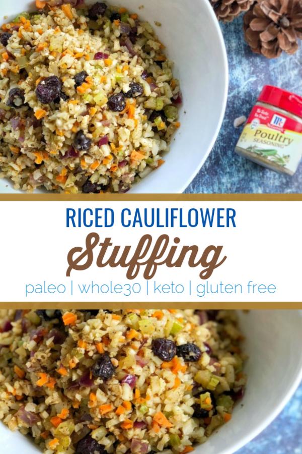 Riced-Cauliflower-Stuffing