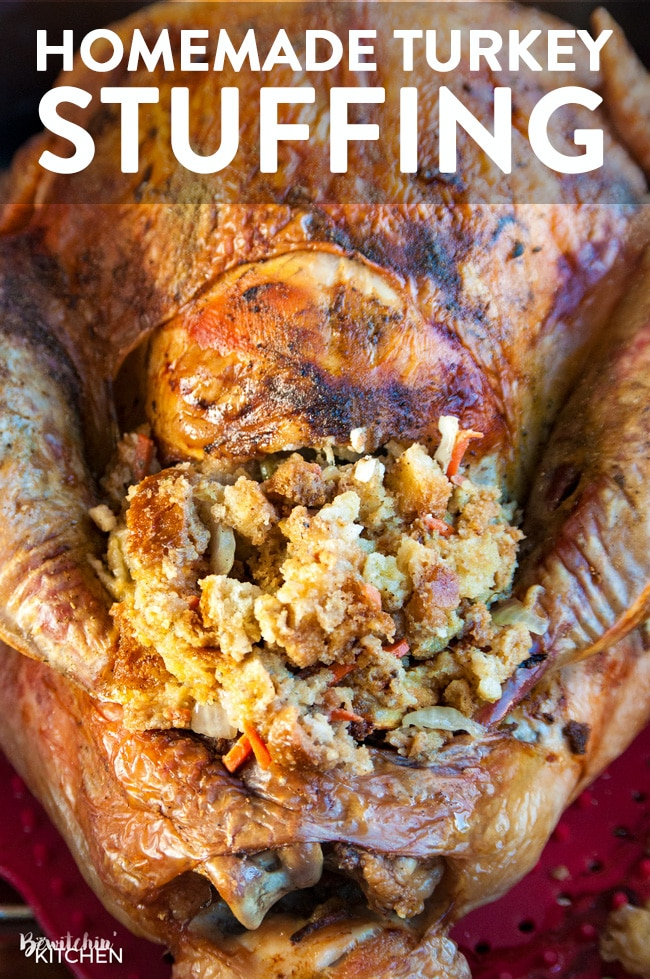 homemade-stuffing-TURKEY