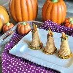 Thanksgiving Allergy Friendly Sugar Cone Teepee