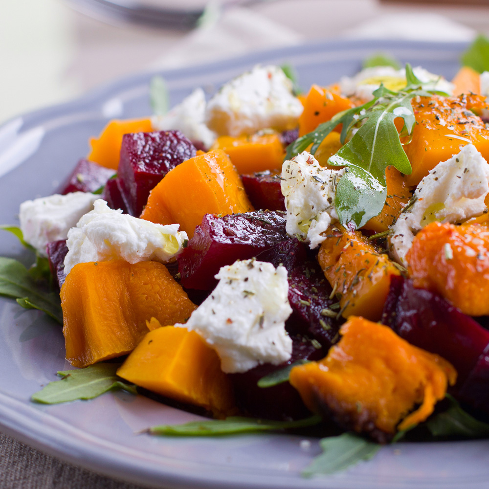 pumpkin+and+beet+salad+with+feta+cheese