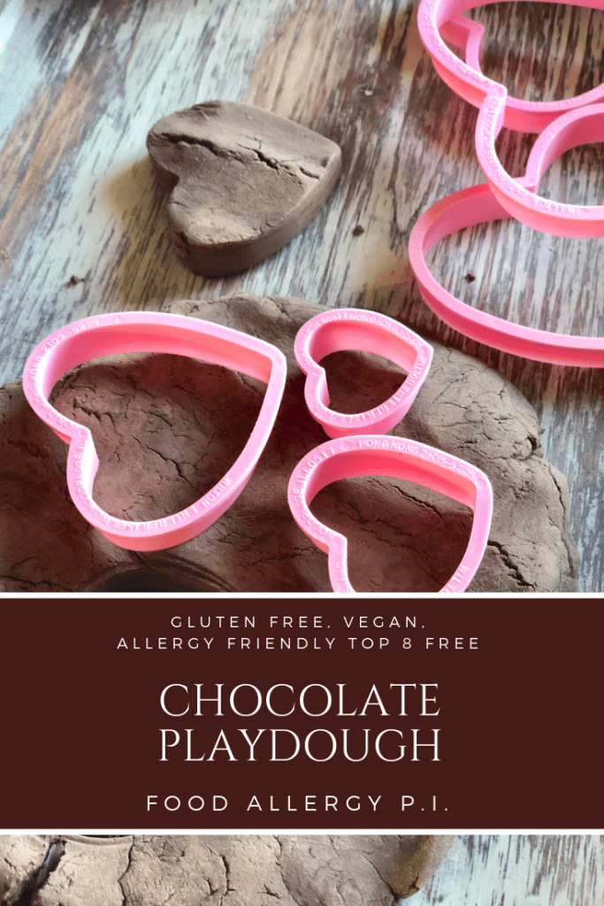 Chocolate Playdough Gluten Free Vegan and Allergy Friendly Top 8 Free