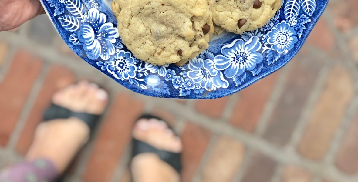 Chewy Granola Chip Cookies   Allergy Friendly, Top 8 Free, Gluten Free, Vegan & Nut Free