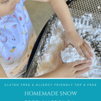 Homemade Snow