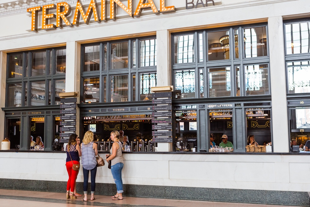 The Terminal Bar in Denver Union Station