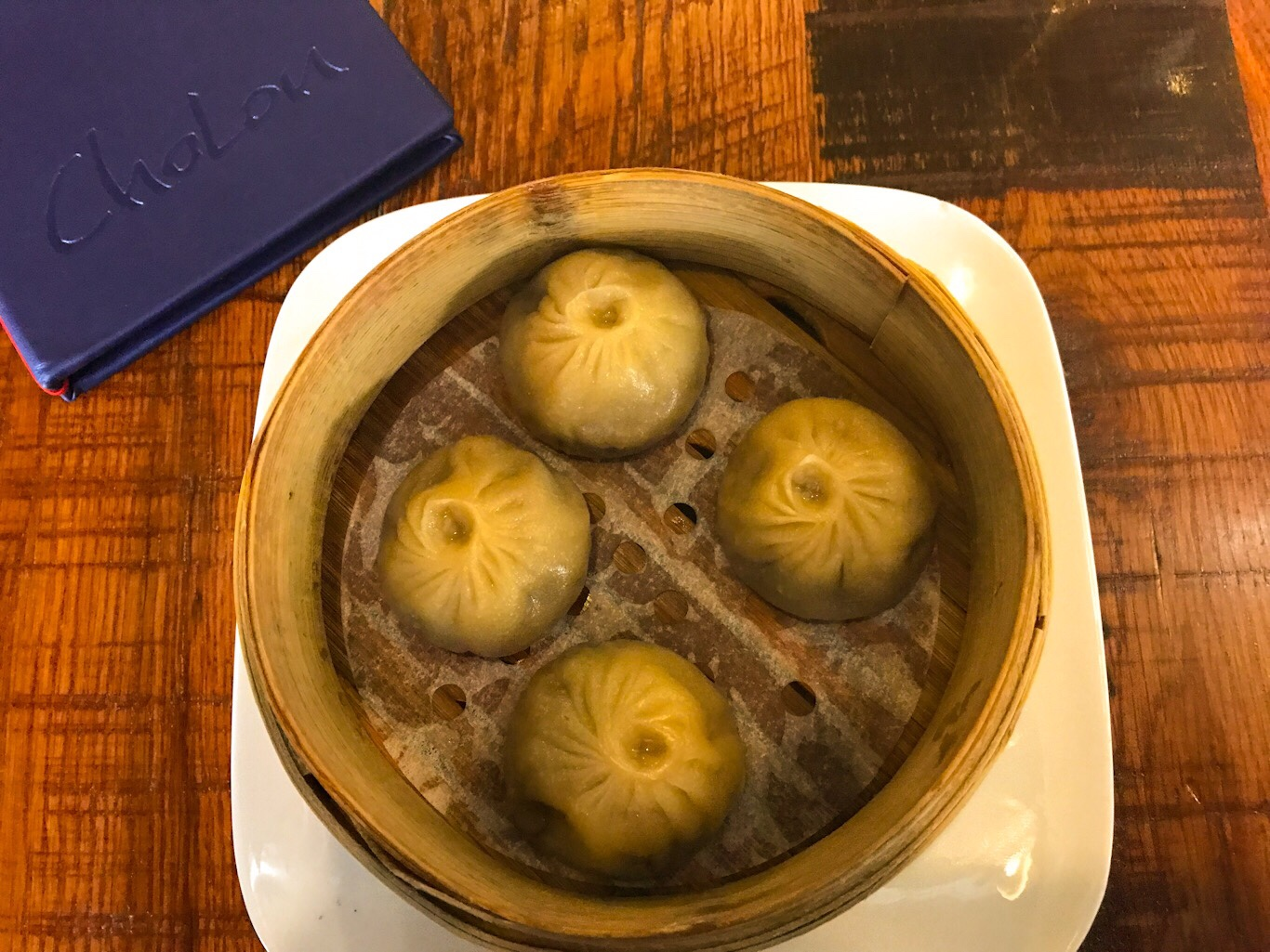 In Denver, CO a restaurant called ChoLon serves French Onion Soup Dumplings that are filled with sweet onion, melty gruyere cheese and deliciously rich French onion broth. They are served piping hot in a small steamer basket and are one of the best dishes I've ever eaten.