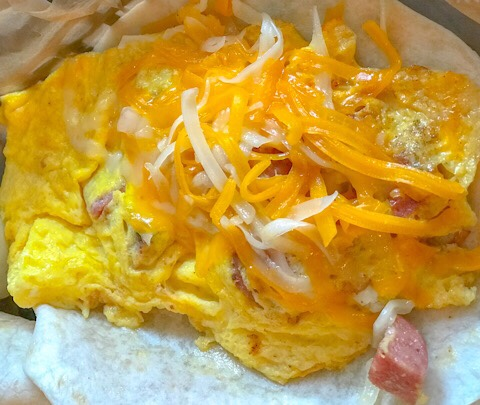 Torchy's Tacos Jalapeno Sausage, Egg, & Cheese ALL Day Breakfast Taco