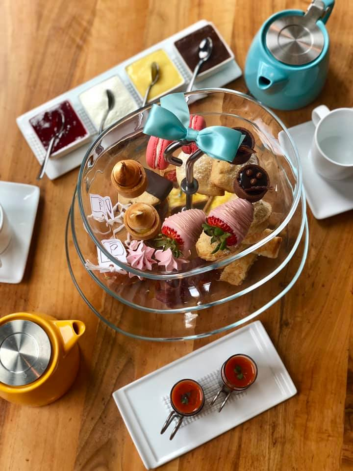 Afternoon tea time is served everyday at D Bar Denver Restaurant in Denver, CO.