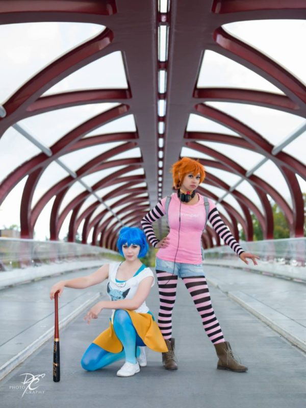 Rori Lane by Tennyo Celeste Cosplay, Ayana by Yousei Cosplay. Photo taken by Destiny's Curse Photography