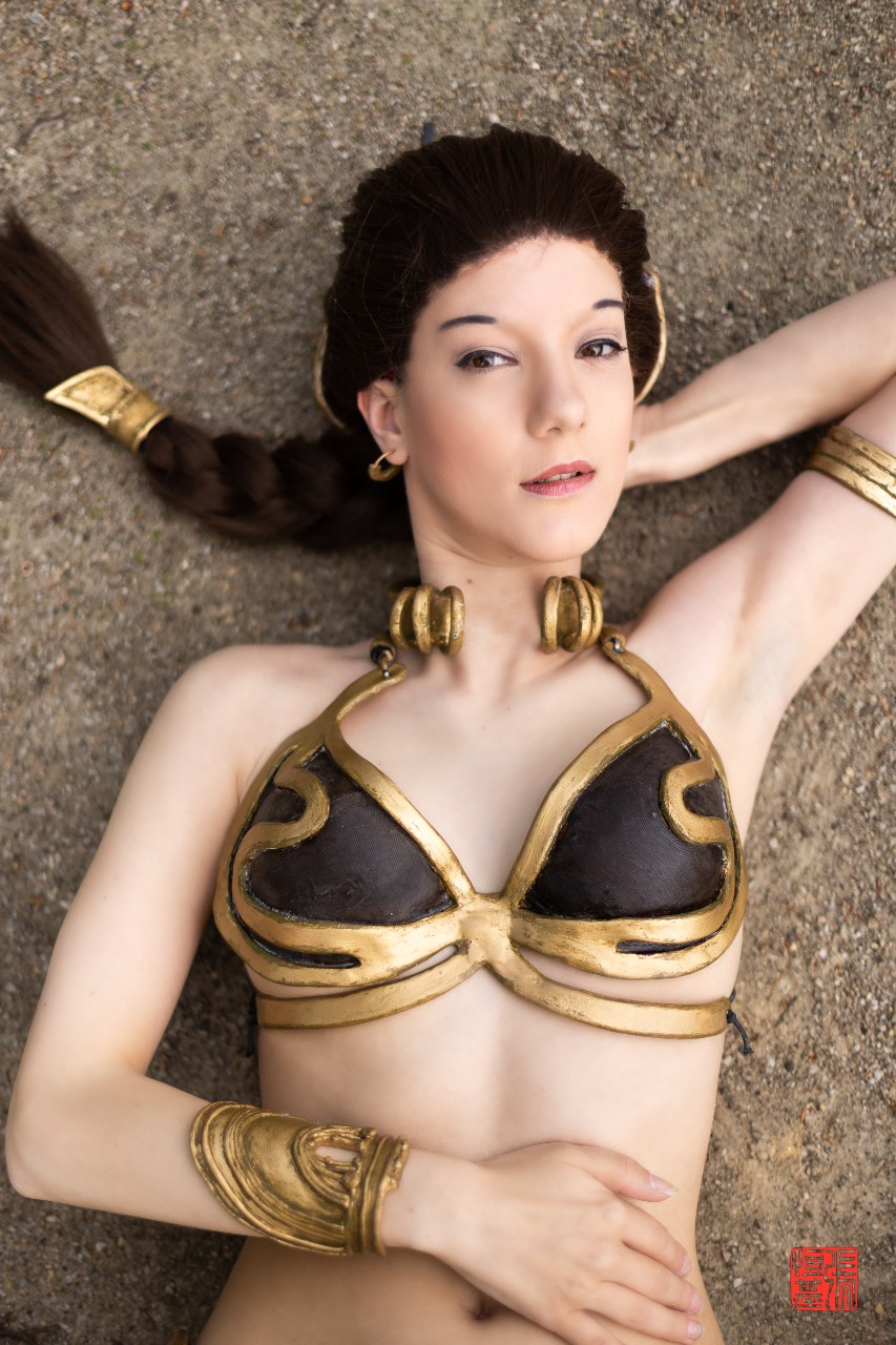 Slave Leia / Star Wars by vjwcosplay