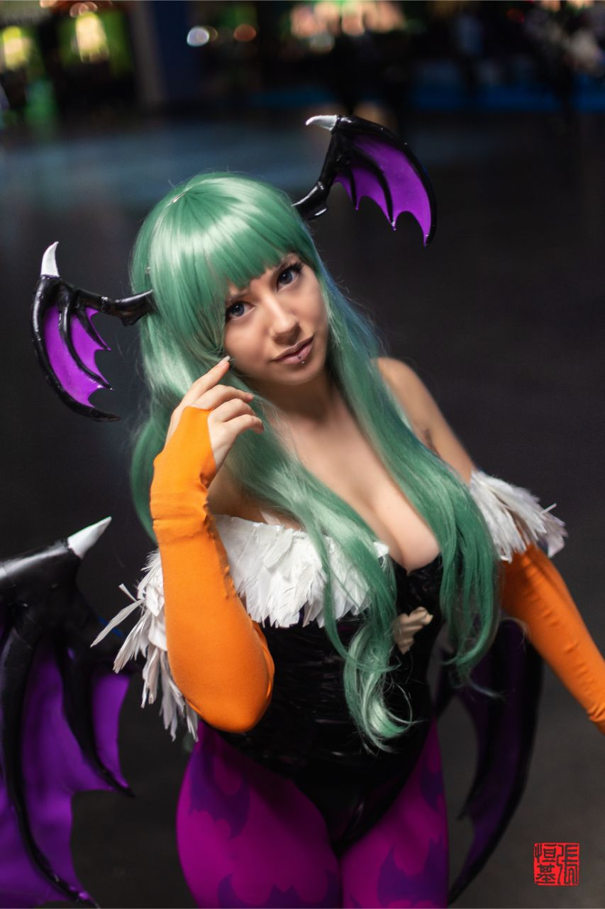Morrigan Aensland / Darkstalkers by Nethicite Cosplay