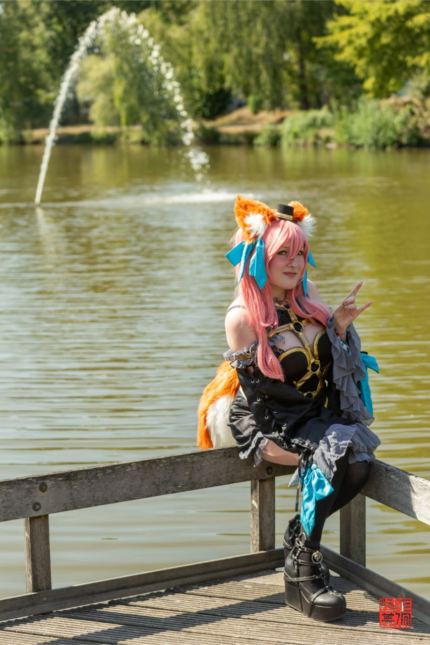 Tamamo no Mae / Fate by hemera_cos