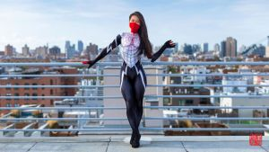 Rooftop Silk / Cindy Moon by realcindymoon