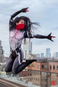 Jumping Silk / Cindy Moon by realcindymoon