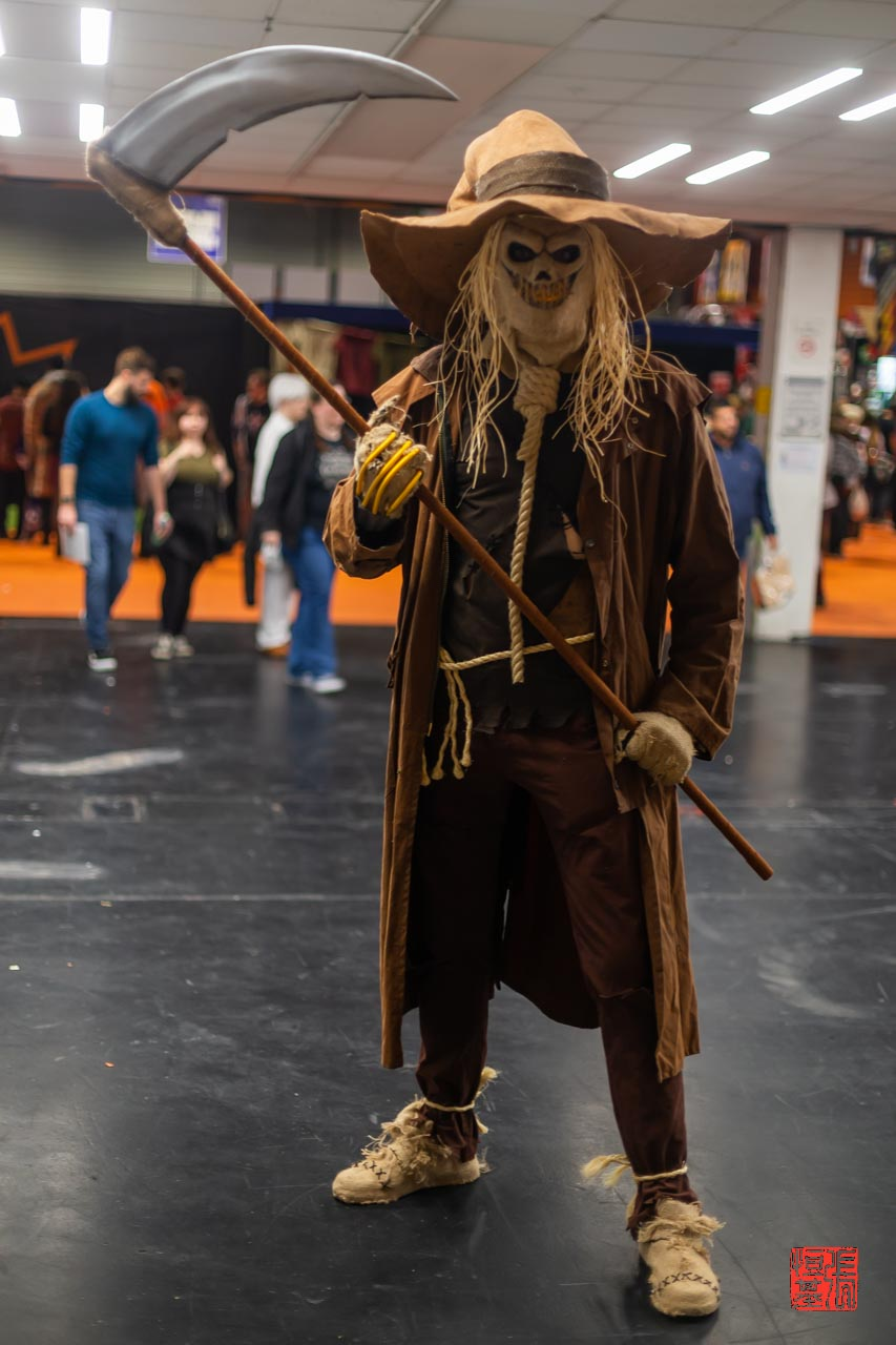 Scarecrow / Batman by Stay Puft Cosplay
