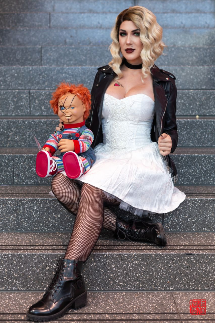 Tiffany / Bride of Chucky by Kristen Hughey