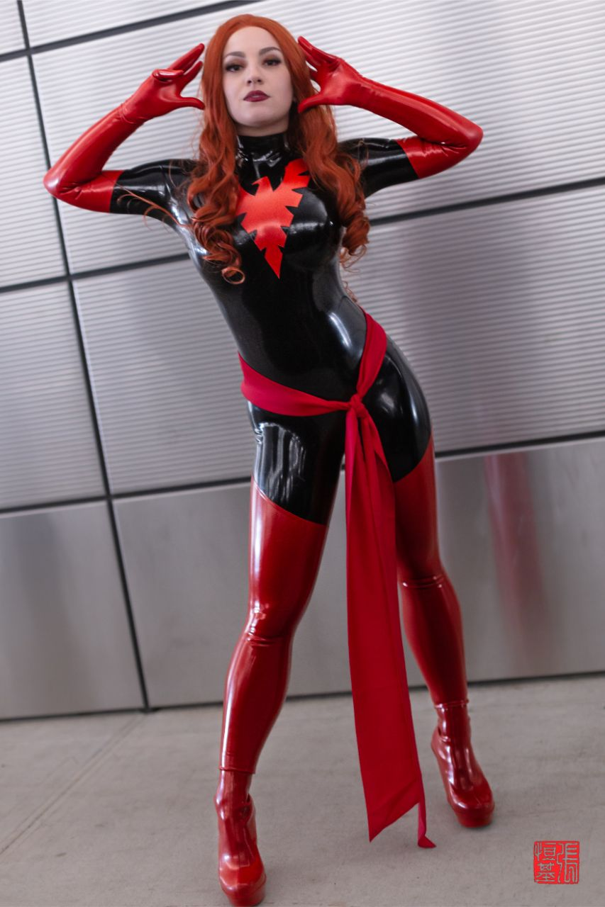 Latex Dark Phoenix by Zoe Volf