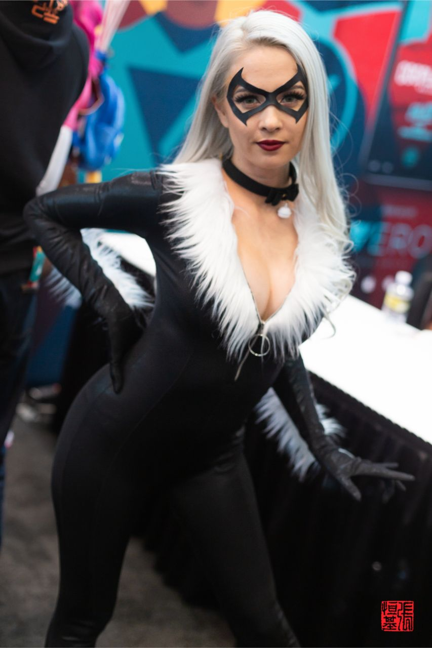 Black Cat / Felicia Hardy by Hendo Art