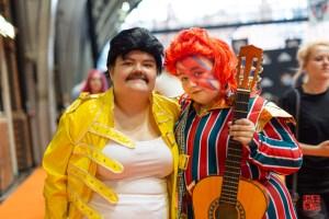 Freddie Mercury & David Bowie by unfused_cosplay