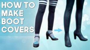 Feature : Kinpatsu Cosplay, How to Make Cosplay Boot Covers!