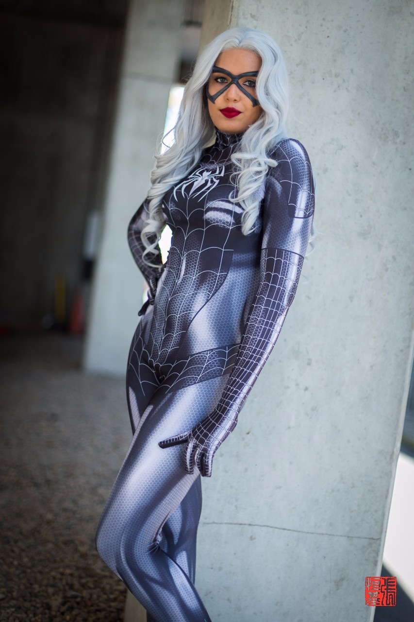 Black Cat (Symbiote) by Brogan Cosplays