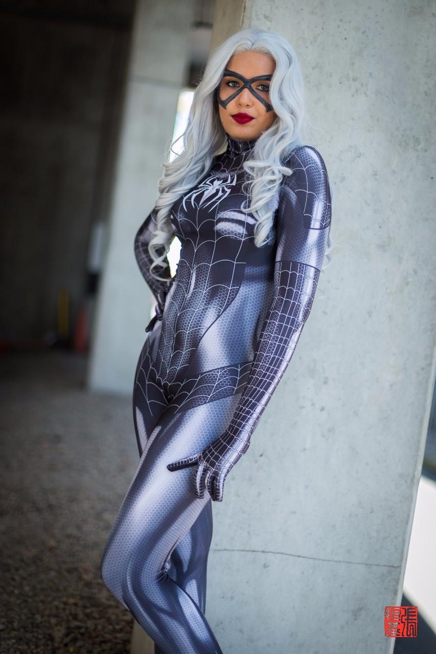 Black Cat (Symbiote) by Brogan Cosplays