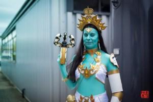 Goddess Symmetra / Overwatch by Jemzamia Cosplay