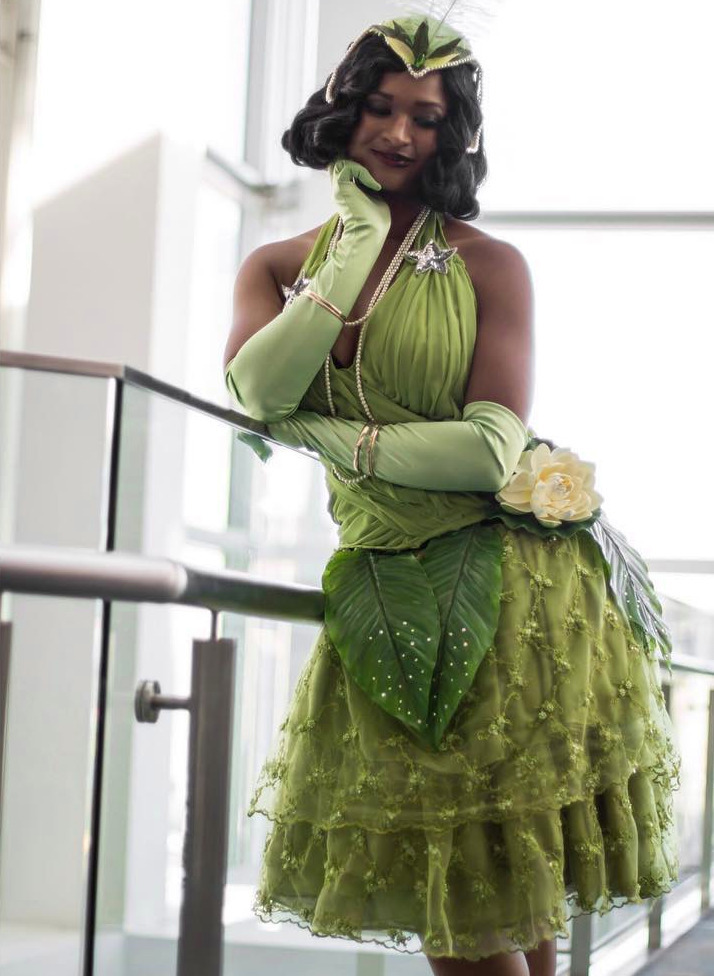 Cosplay Stories : Tiana from The Princess and the Frog by dressesandcapes