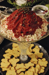 Holiday Crab and Crackers