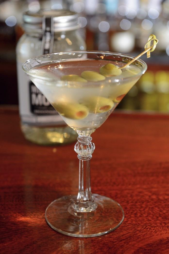 Moonshine Dirty Martini