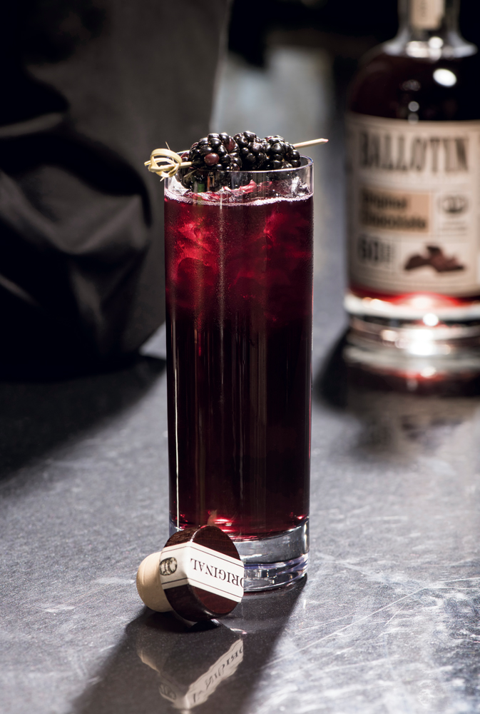 Ballotin Chocolate Whiskey — Mole Sangria