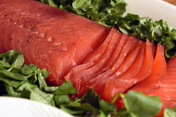 Manhattan salmon