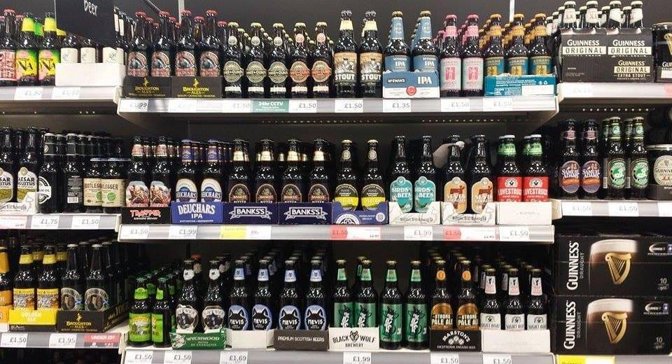 Craft Beers in Aldi stores in UK