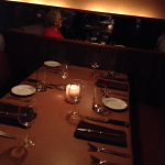 Subtle lighting enhances the ambience at Primehouse