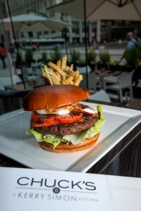 Chuck's four-star food: Caprese Burger