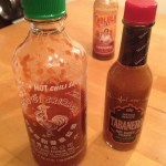 Sriracha and Tabanero lord it over Cholula at my house