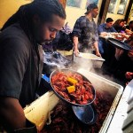 Memorial Day crawfish boil at Frontier