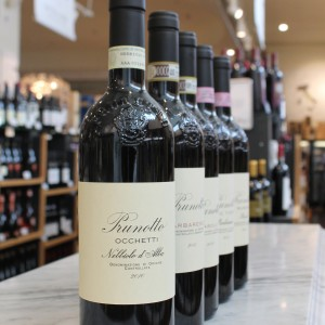 Prunotto rd wines at Eataly