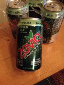 Zevia - sweetened only with all-natural stevia