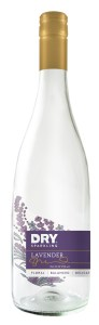 DRY sparkling Lavender in 750ml bottle
