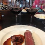 Rib roasta and Mullan Road Cellars red blends
