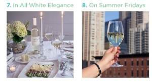 Elegant for dinner, great for Chicago rooftops