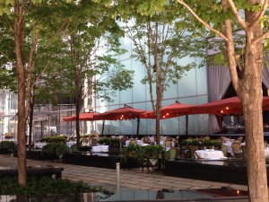 Rosebud Prime serves breakfast on the patio