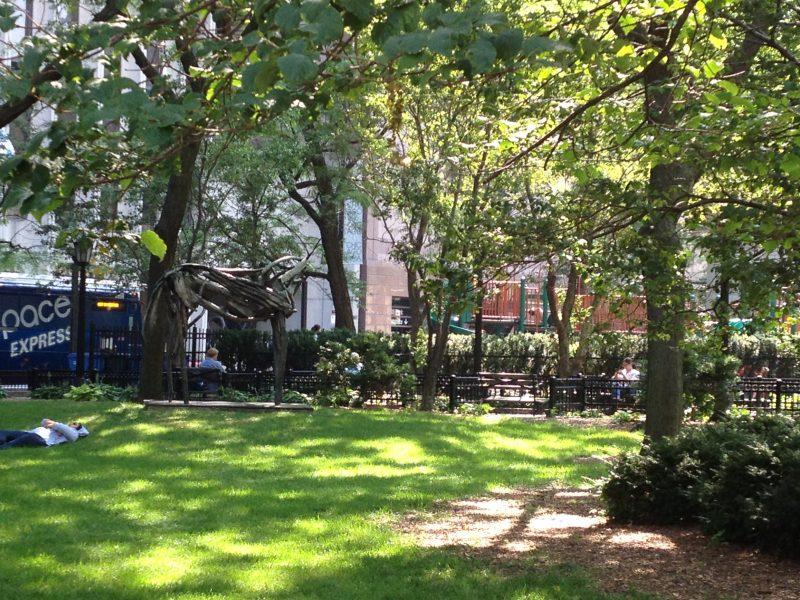 Seneca Park at Chicago and Mies van der Rohe