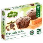 Garden Lites choclate veggie gluten-free muffin