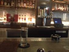 The elegant modern bar at Steadfast