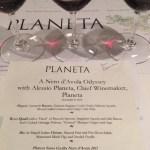 Planeta wines and delciious food at Naha