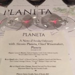 Planeta wines and delciious food at Naha