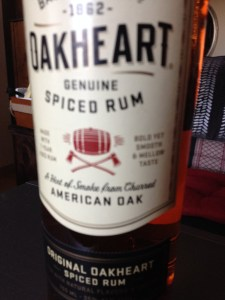 Oakheart spiced rum is deLISH as a nightcap