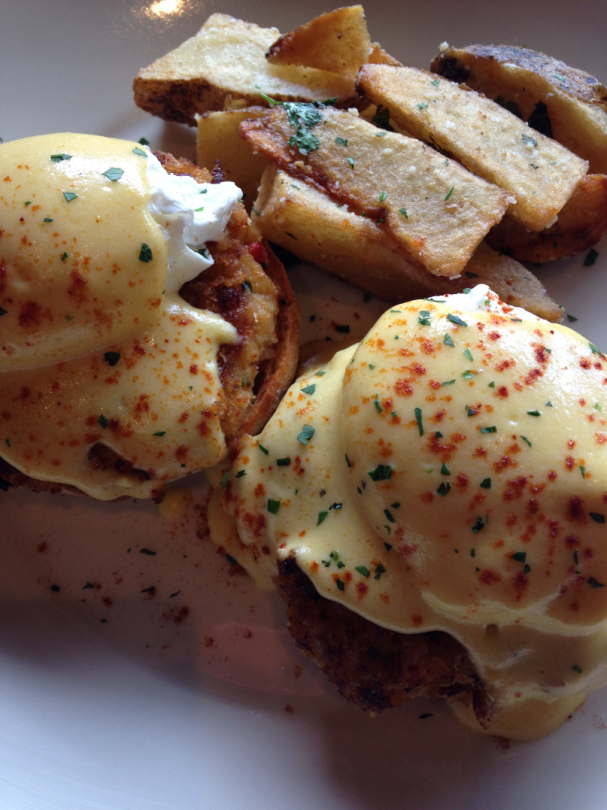 Creative Benedicts at Maggiano's brunch